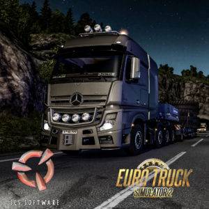 ETS2 Actros SLT Night