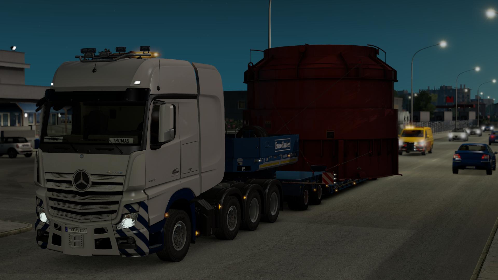 euro truck simulator 2 mit allgemeinen infos und erweiterungen