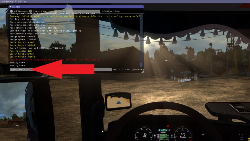 Euro Truck Simulator 2 Console