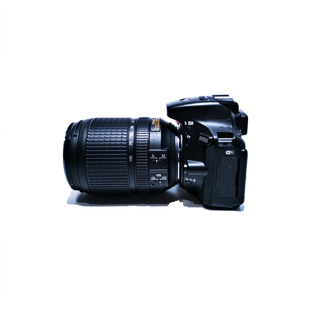 Nikon D5500 Seite