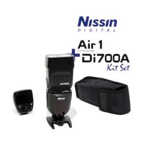 Nissin Di700A + Air 1 Commander