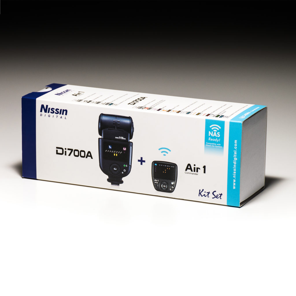 Nissin Di700A + Air 1 Commander